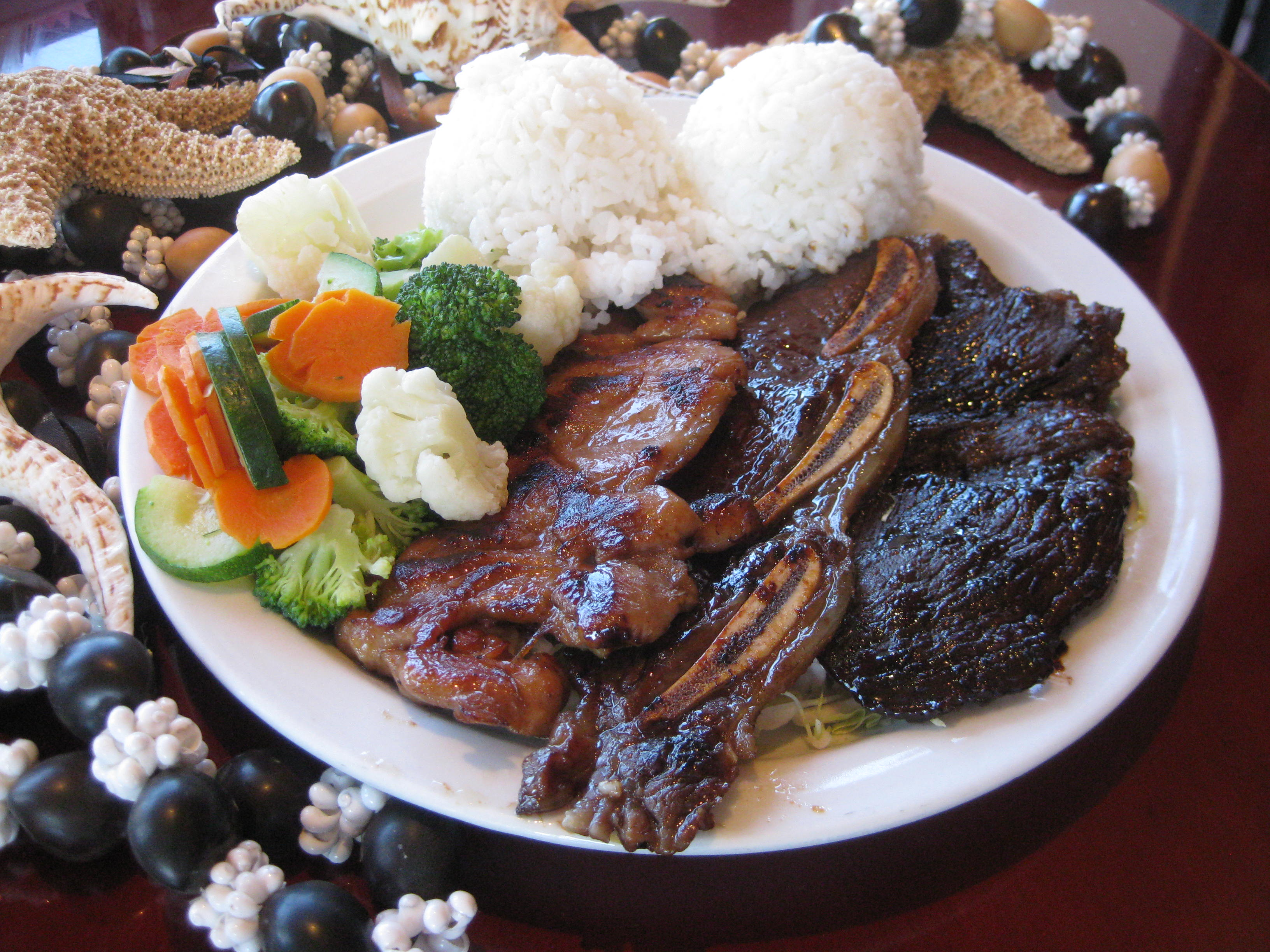 BBQ Mix Combo Plate